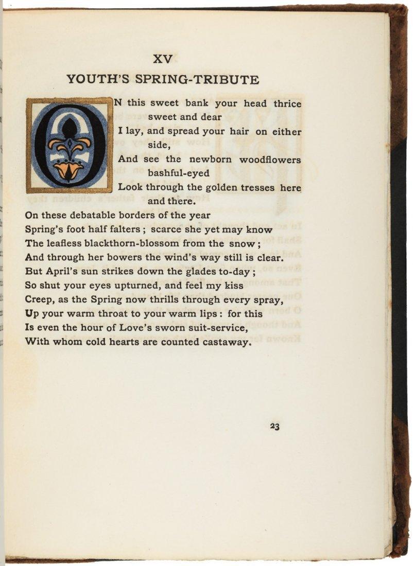 The House of Life - Rossetti - Roycroft Printing - 5