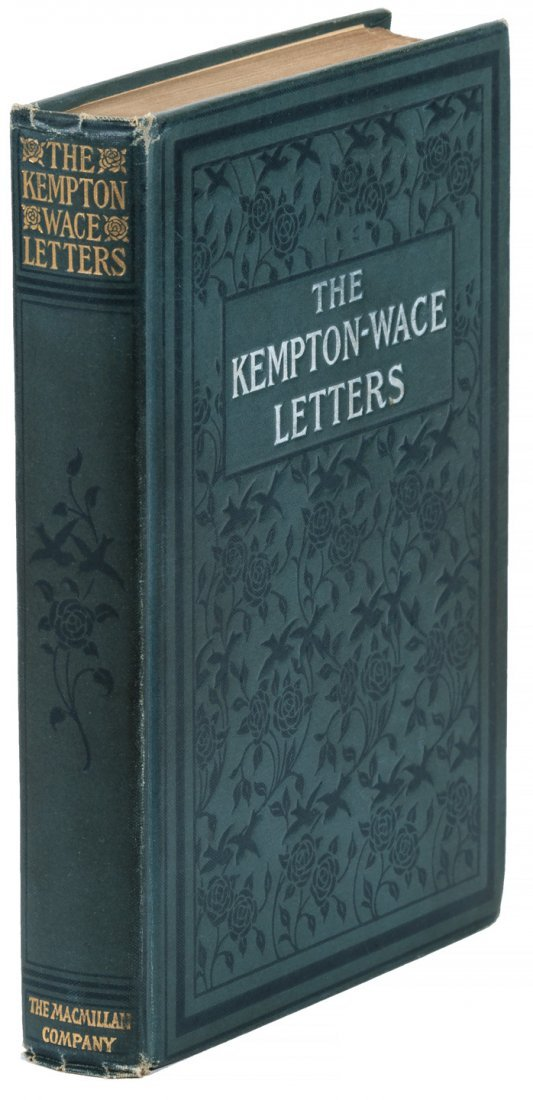 Kempton-Wace Letters first issue