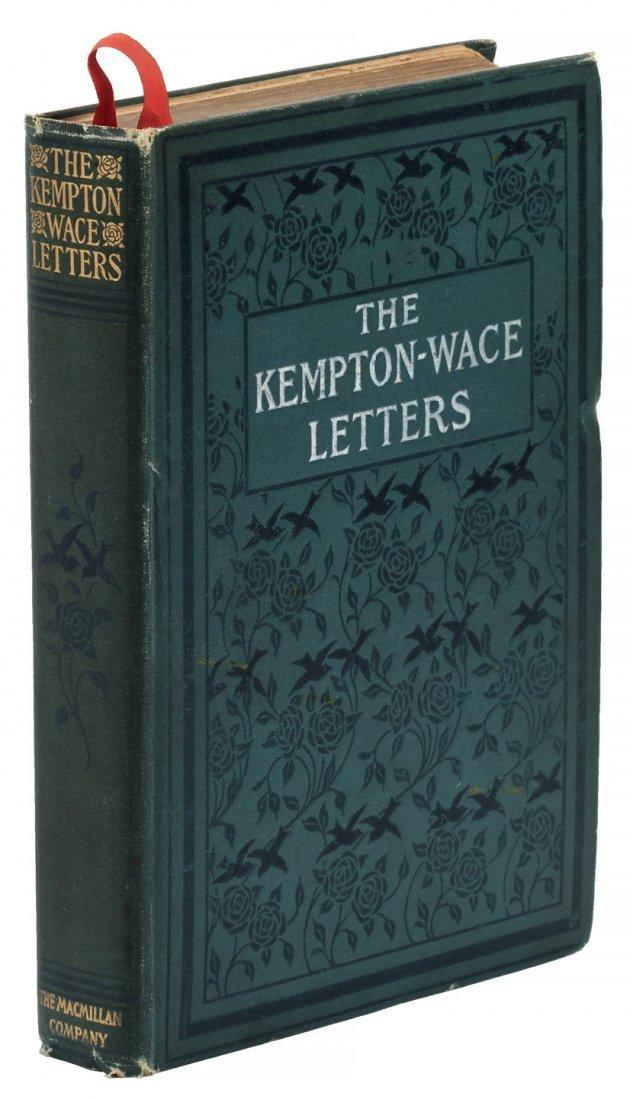 Kempton-Wace Letters signed by Anna Strunsky