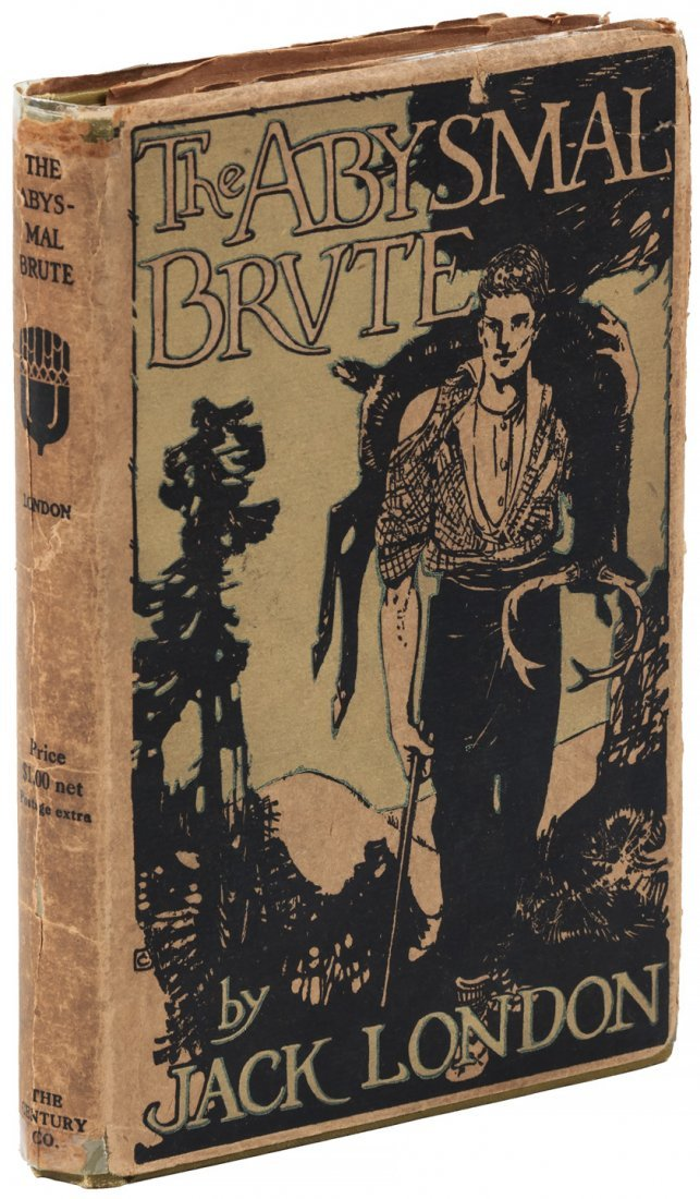 Jack London The Abysmal Brute 1st Edition in jacket