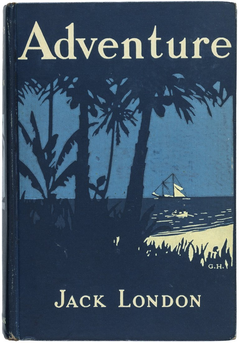 Jack London Adventure Inscribed by the author - 2
