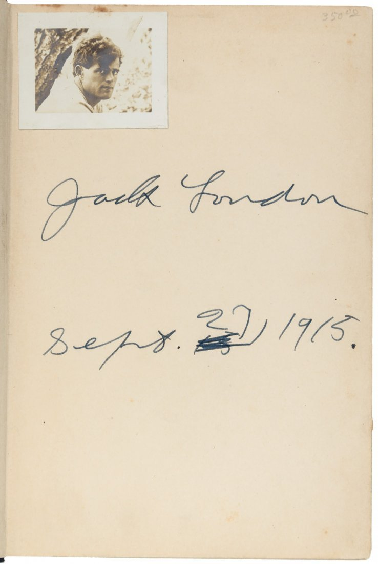Jack London Adventure signed by the author