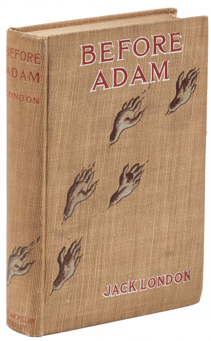 Jack London Before Adam First Edition