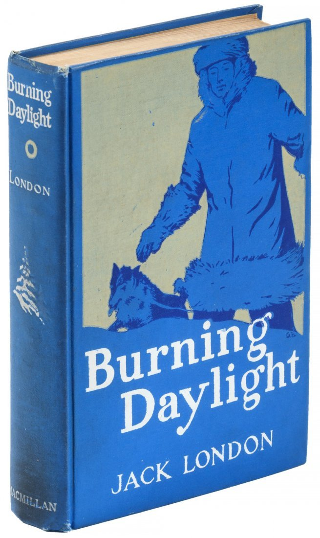 Jack London Burning Bright 1st Edition.