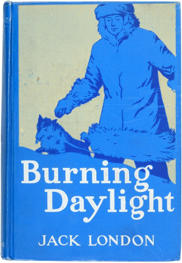 Jack London Burning Bright inscribed to his mother