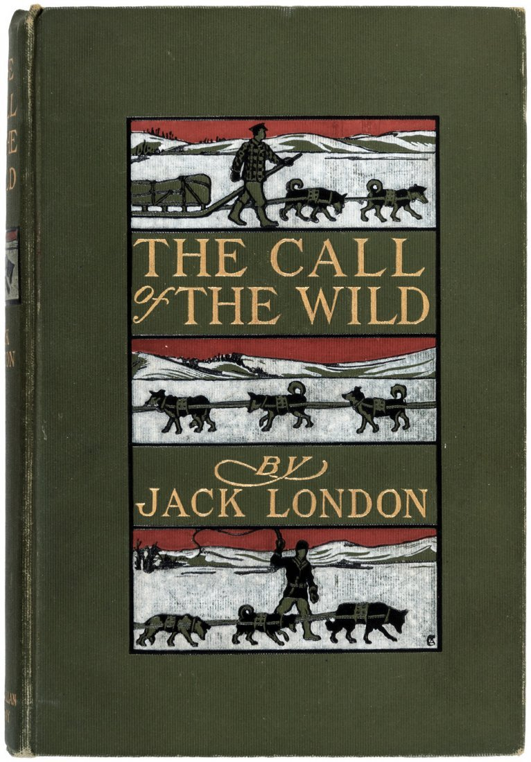 Jack London The Call of the Wild First Edition in DJ