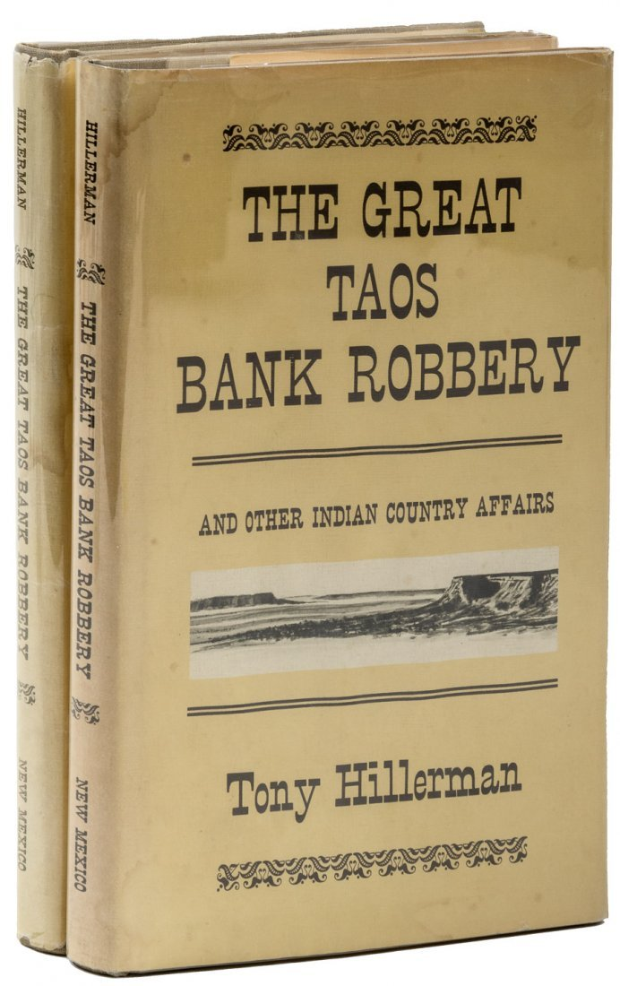 The Great Taos Bank Robbery, Tony Hillerman.