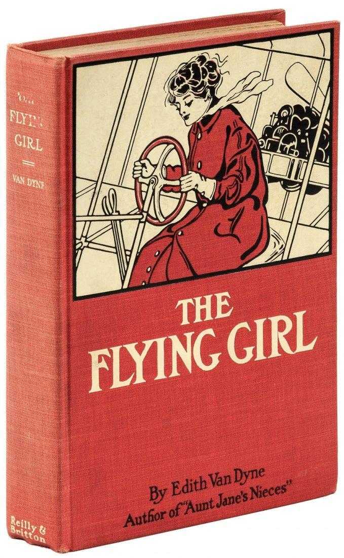 Edith Van Dyne The Flying Girl L. Frank Baum