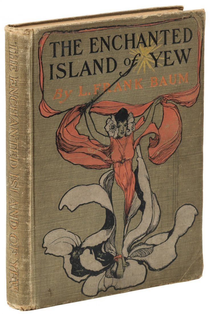 The Enchanted Island of Yew. Baum. 1st. Edition.