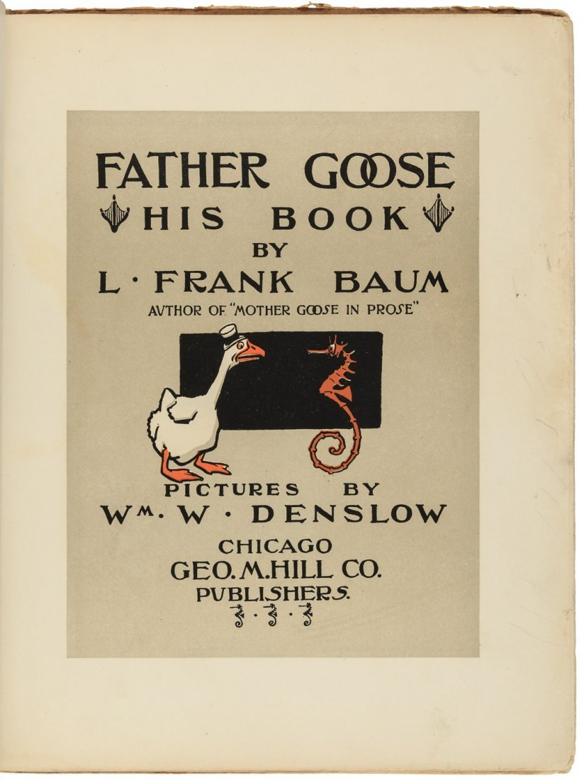 Father Goose His Book by L. Frank Baum - 2