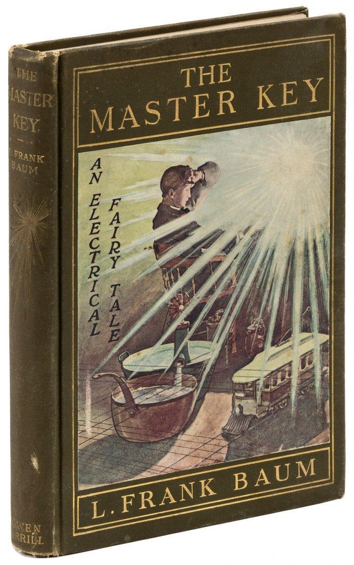 L. Frank Baum The Master Key 1st Edition 1st Printing