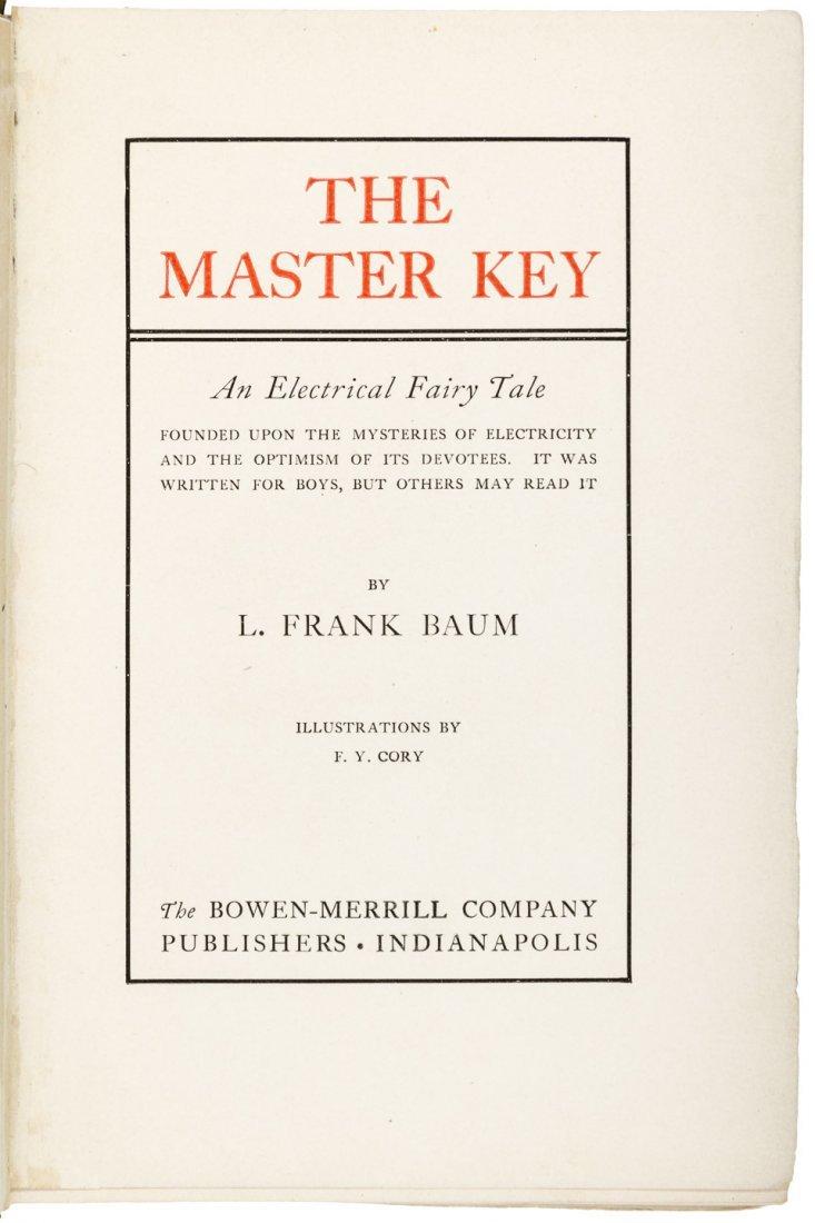 L. Frank Baum The Master Key 1st Edition 1st Printing - 3