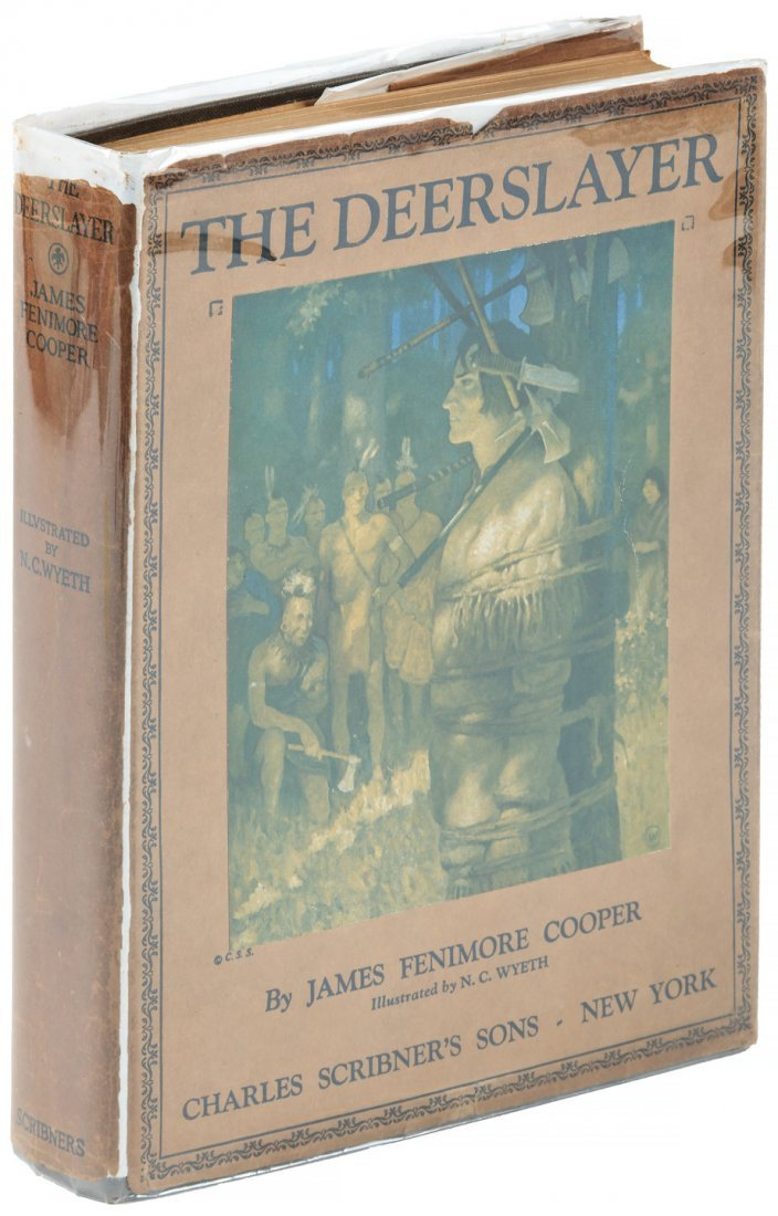 The Deerslayer - James Fenimore Cooper - Wyeth