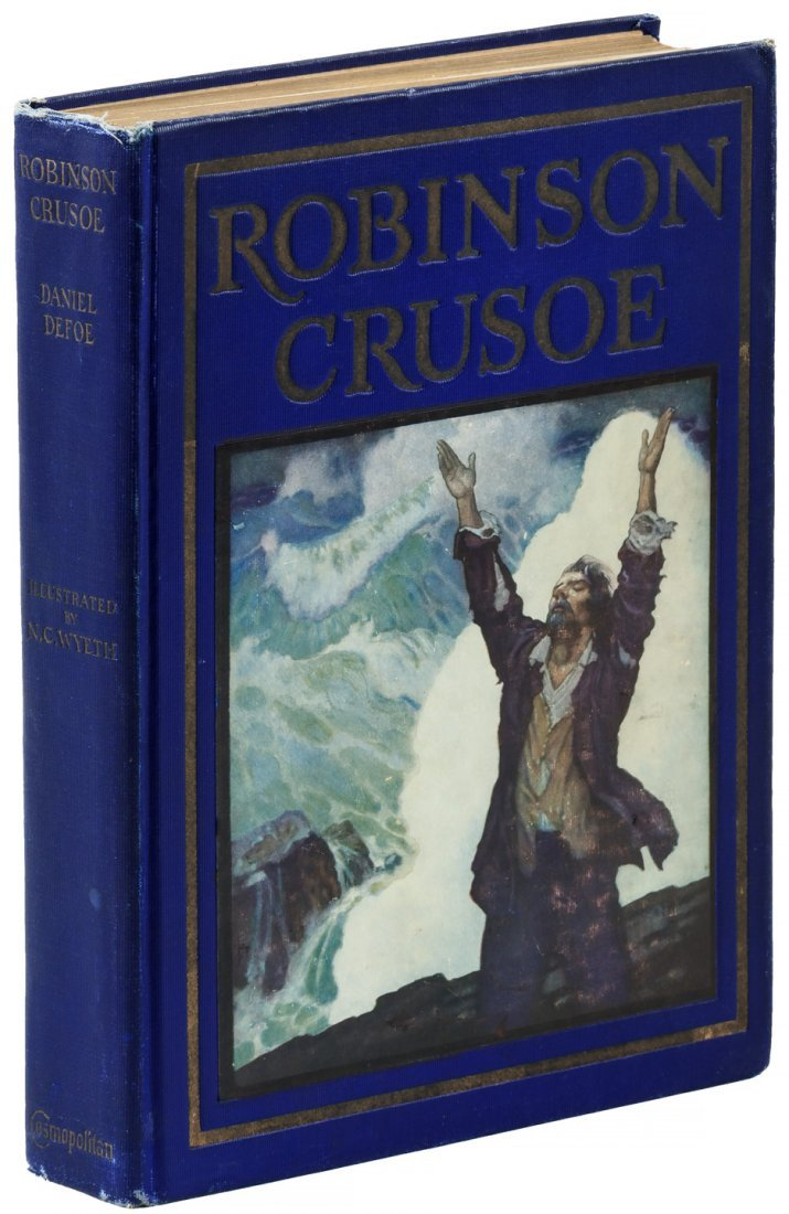 Robinson Crusoe - N.C. Wyeth Illustrated