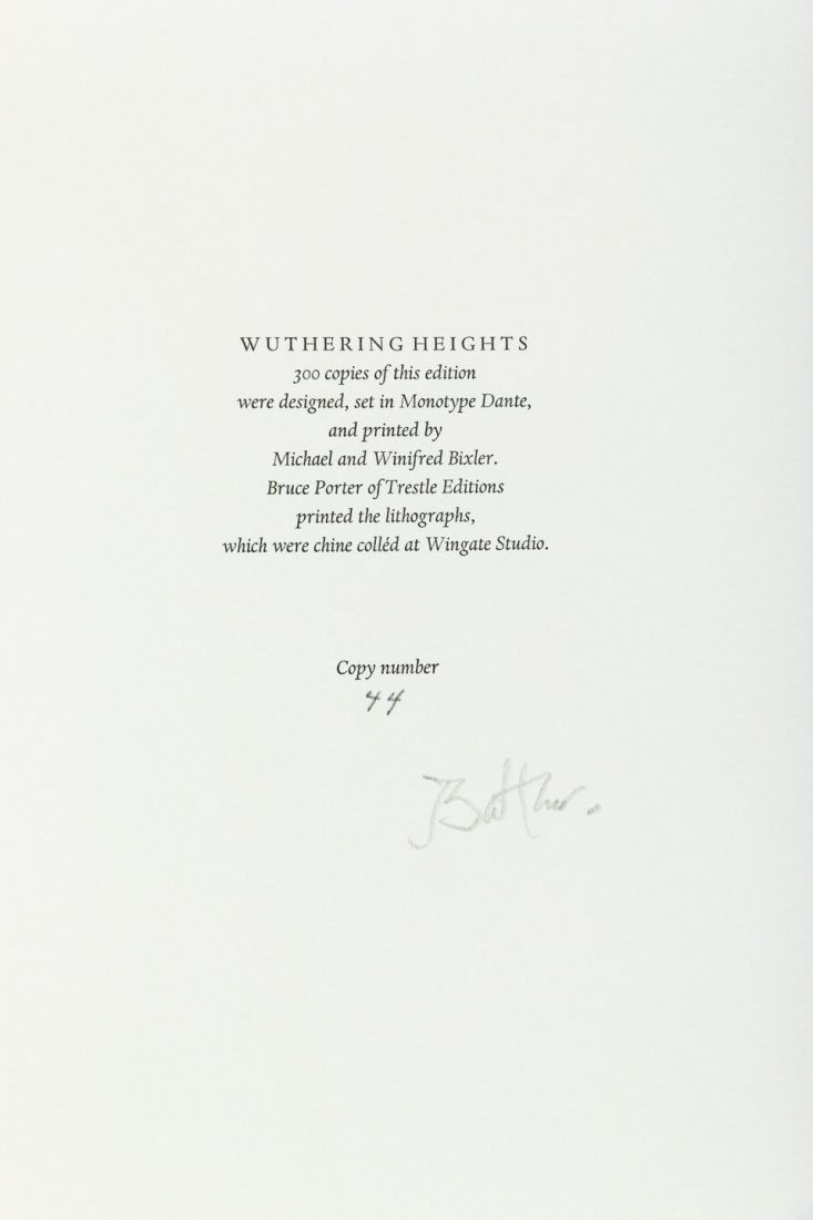 Wuthering Heights illustrated by Balthus - 4
