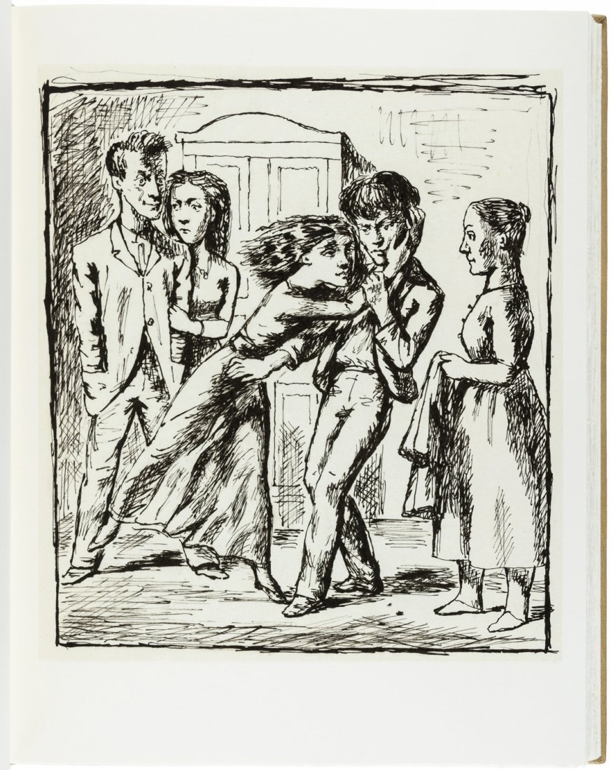 Wuthering Heights illustrated by Balthus - 5