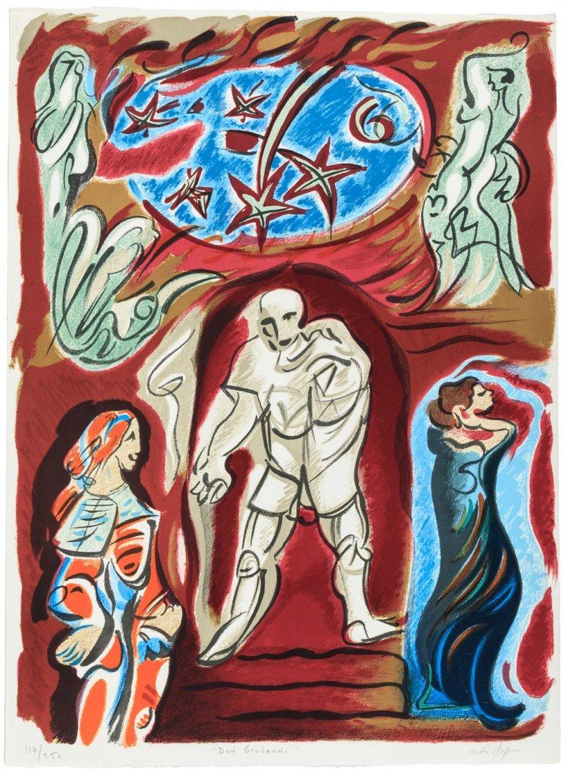 Original Graphic Art for Metropolitan Opera