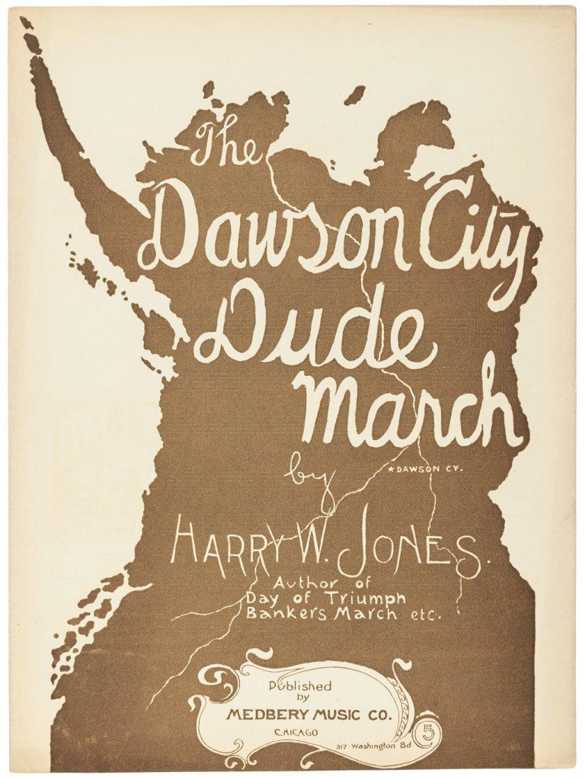 Alaska Gold Rush music, 1897  rare Dawson City Dude