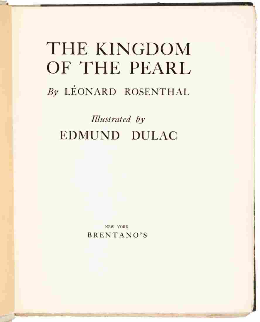 Edmund Dulac Kingdom of the Pearl Limited Edition