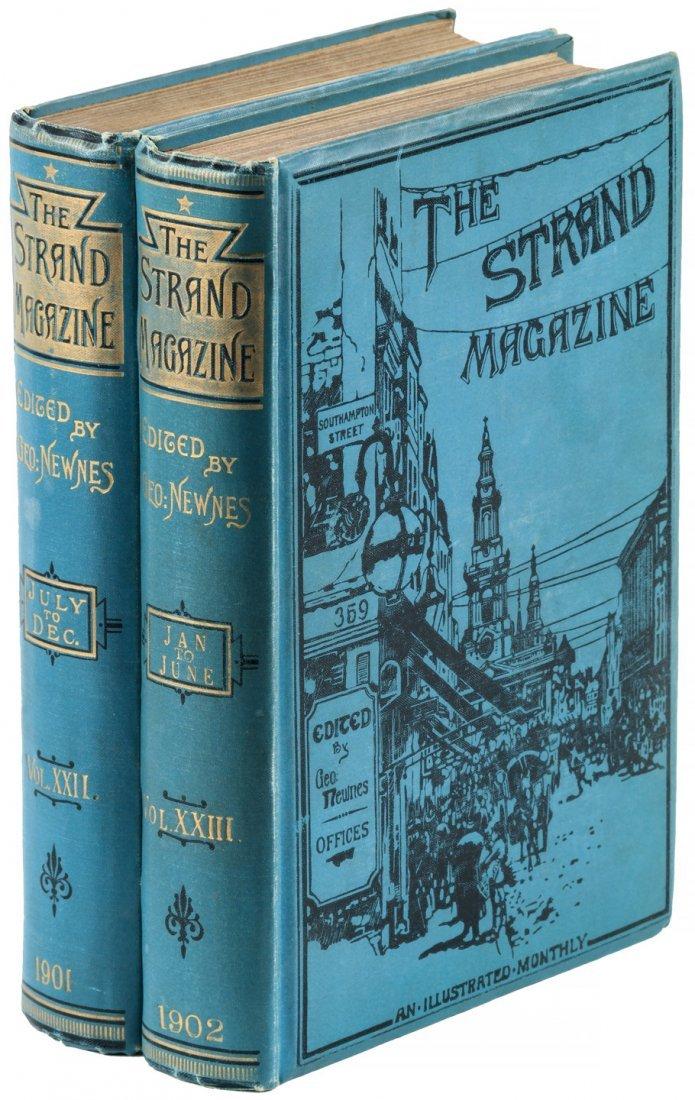 Arthur Conan Doyle in The Strand Magazine Sherlock