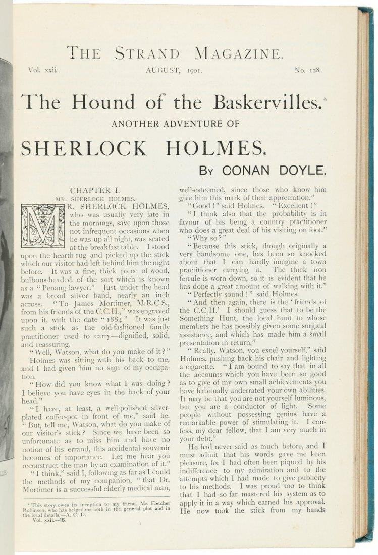 Arthur Conan Doyle in The Strand Magazine Sherlock - 2