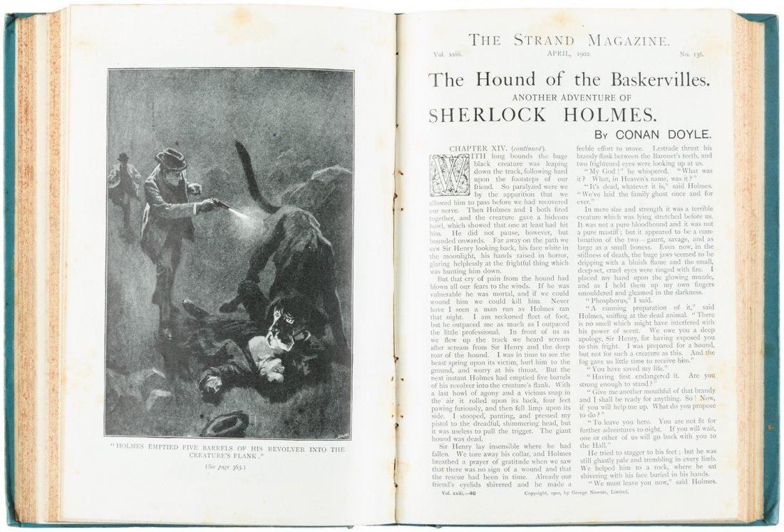 Arthur Conan Doyle in The Strand Magazine Sherlock - 4