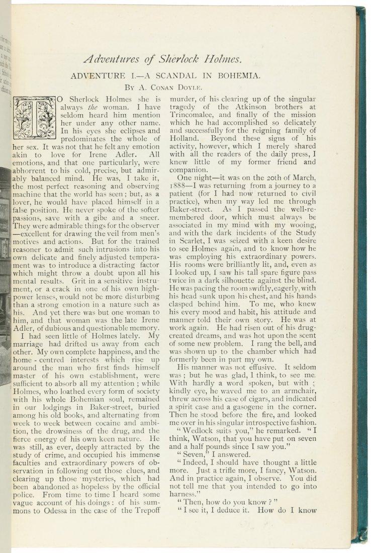 Arthur Conan Doyle in The Strand Magazine Sherlock - 5