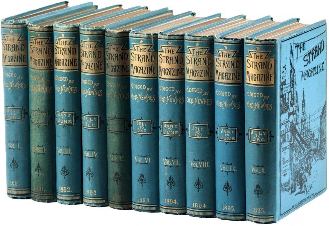 Arthur Conan Doyle in The Strand Magazine Sherlock - 6