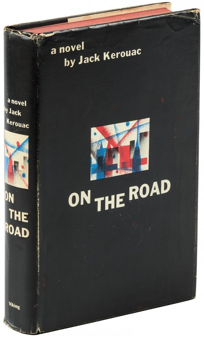 Kerouac's On the Road - First Edition with jacket