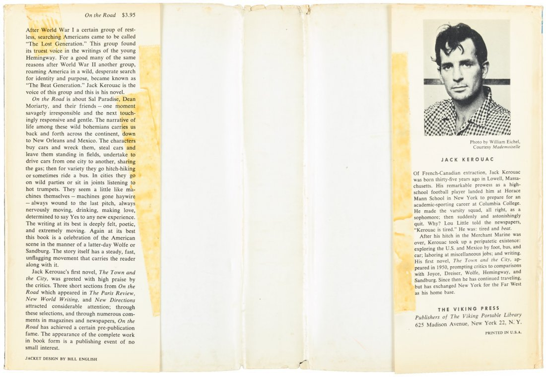 Kerouac's On the Road - First Edition with jacket - 4