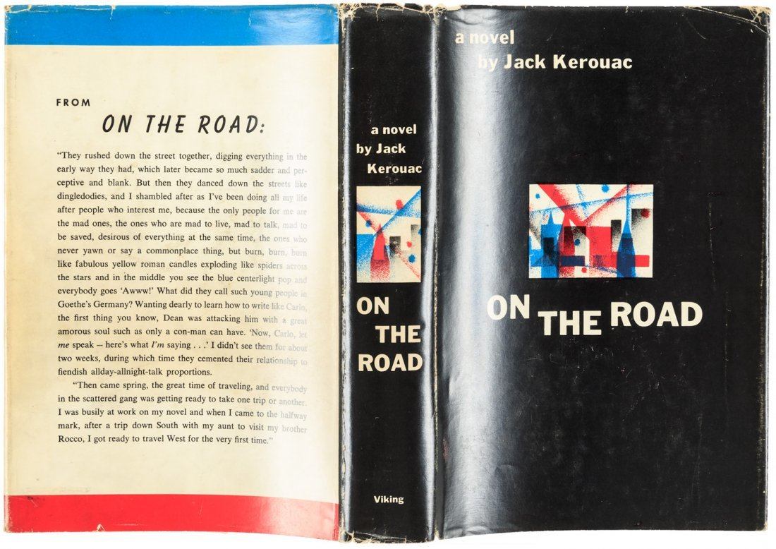 Kerouac's On the Road - First Edition with jacket - 5
