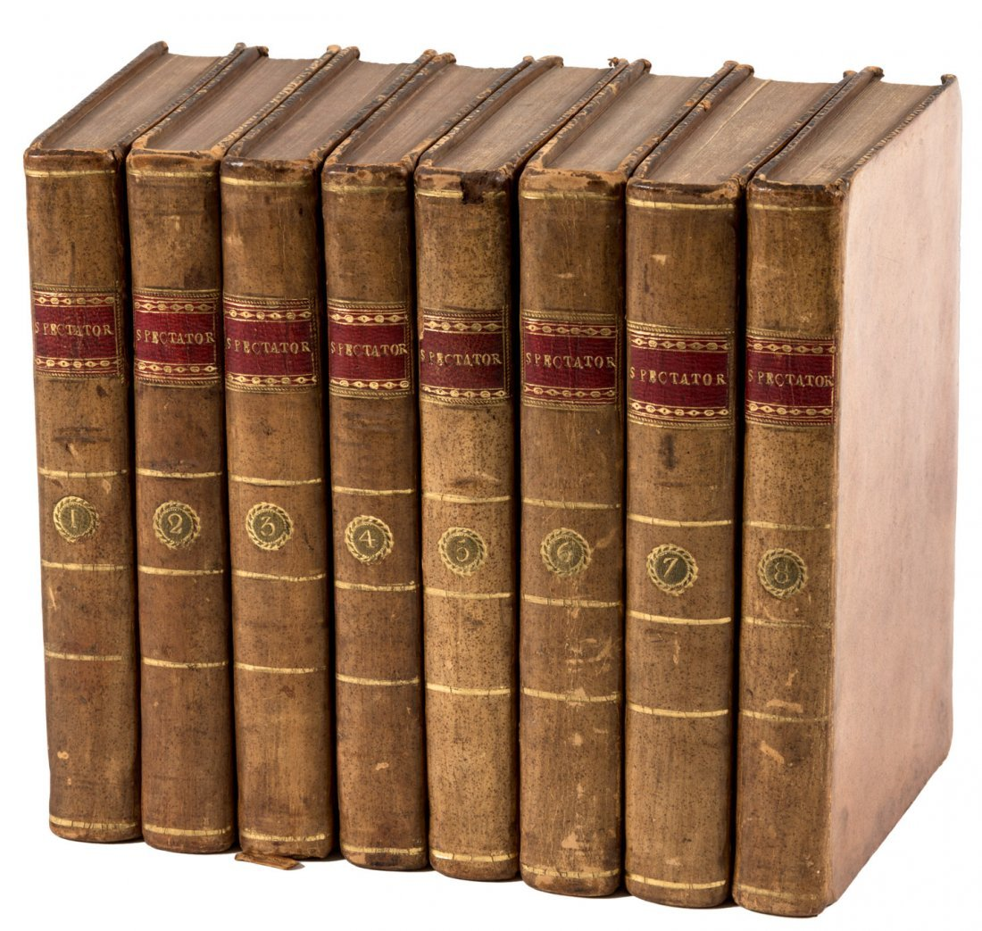 Addison & Steele The Spectator 1791 8 volumes