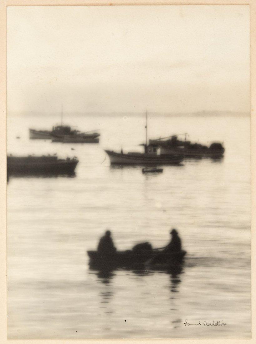 Three original California Pictorialist photographs