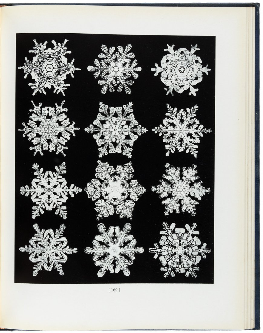 Photographs of Snowflakes by W.A. Bentley
