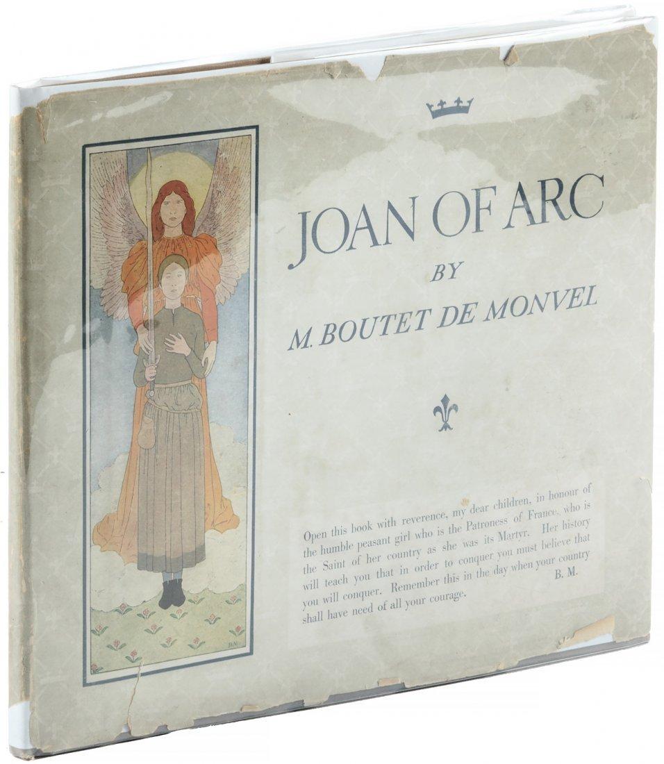 Joan of Arc by Boutet de Bonvel in dust jacket