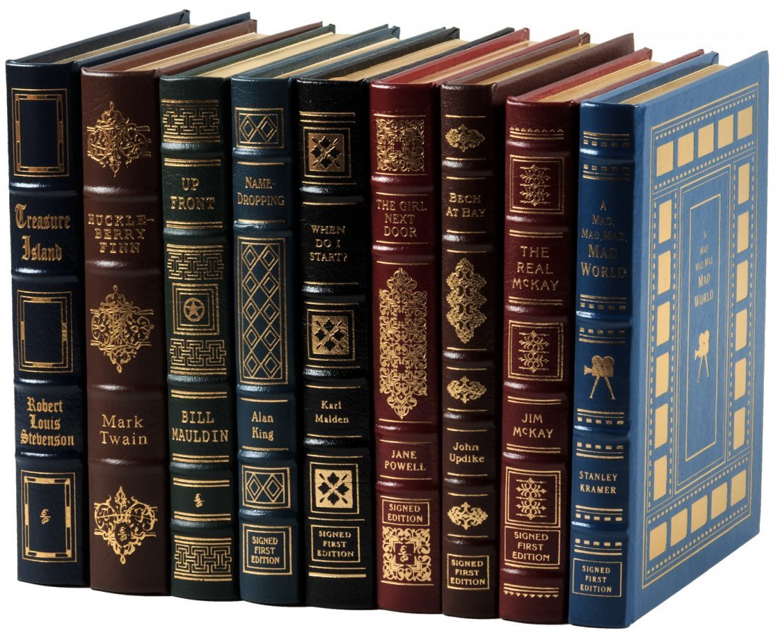 Nine volumes published by Easton Press
