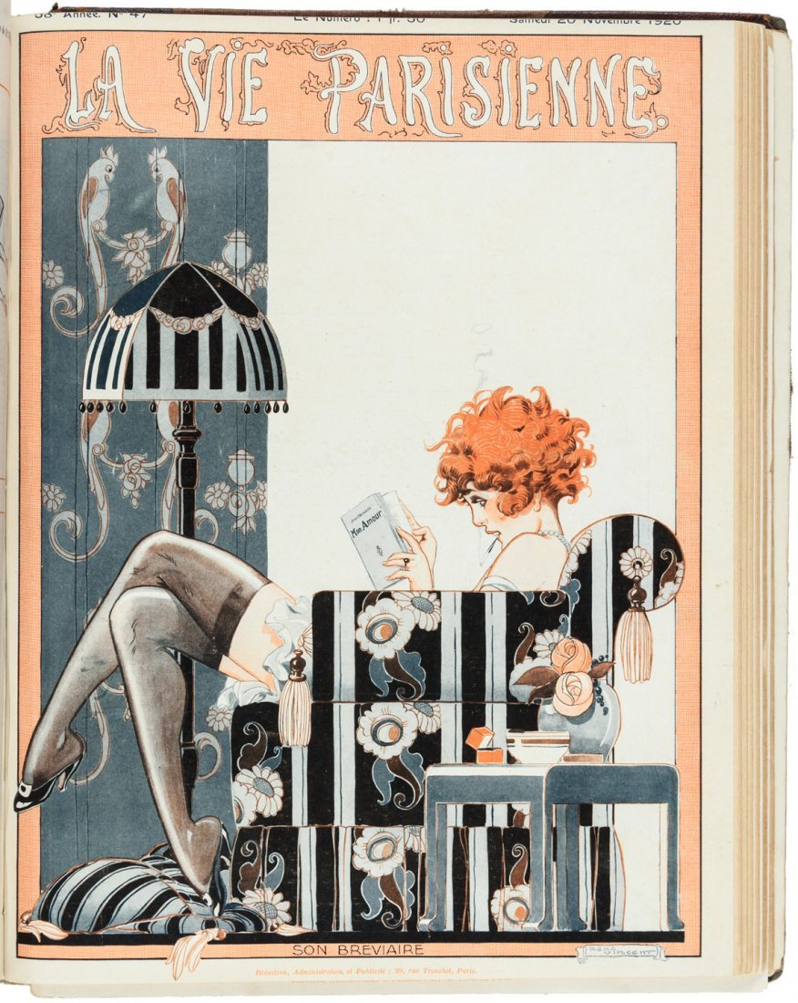 La Vie Parieienne - bound volume for 1920