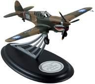 Signed Franklin Mint P-40E Warhawk Signature Edition