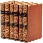 Three Thackeray first editions finely bound