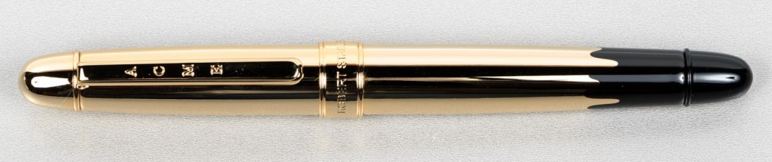 Acme: Gold Dipped Rollerball Pen