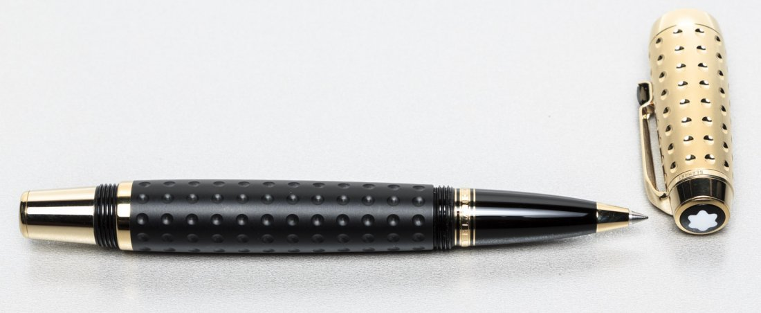Montblanc: Boheme Doue Gold-Plated Guilloche Rollerball - 2