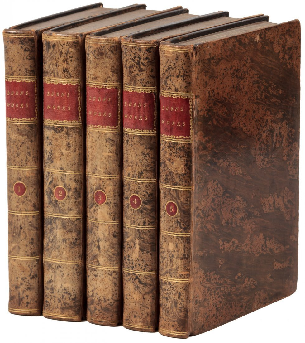 First collected edition of the Works of Robert Burns