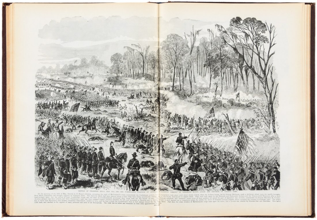 Leslie's Leaders & Battle Scenes of the Civil War
