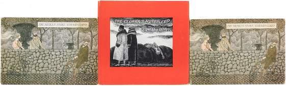 Three Edward Gorey First Editions.