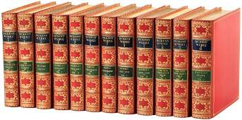 Gadshill Edition of Charles Dickens Works finely bound
