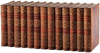 Sir Walter Scott The Waverley Novels finely bound