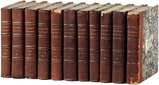 Clarkes Travels in Various Countries  11 vol set