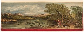 Scott's The Lady Of The Lake With Fore-edge Painting