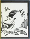 Batman  Me  signed by Bob Kane