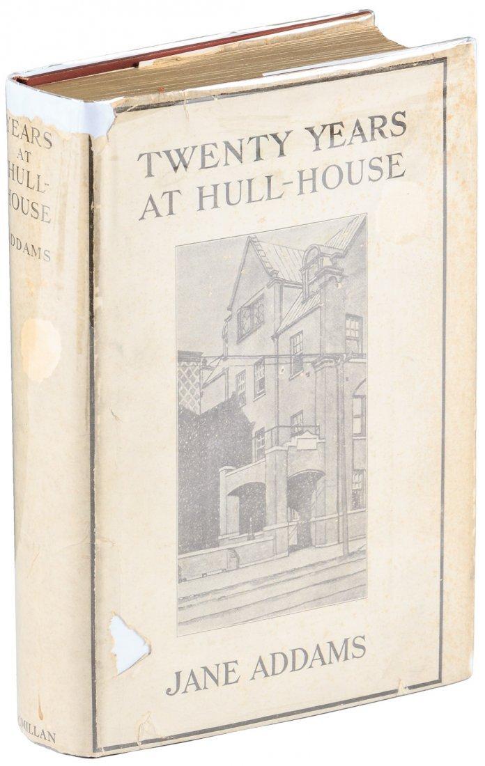 Twenty Years at Hull-House with Jane Addams telegram